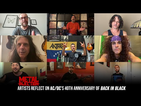 AC/DC's Back In Black: ANTHRAX, VOLBEAT, TESTAMENT & More Reflect On This Classic | Metal Injection