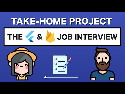 Take Home Project for Flutter Job Interview - Firebase version
