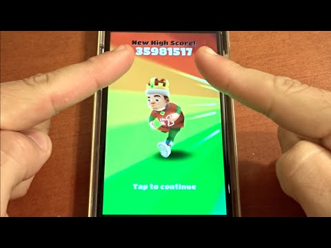 Thumbnail: Over 35 Million Points on Subway Surfers! NO HACKS OR CHEATS!