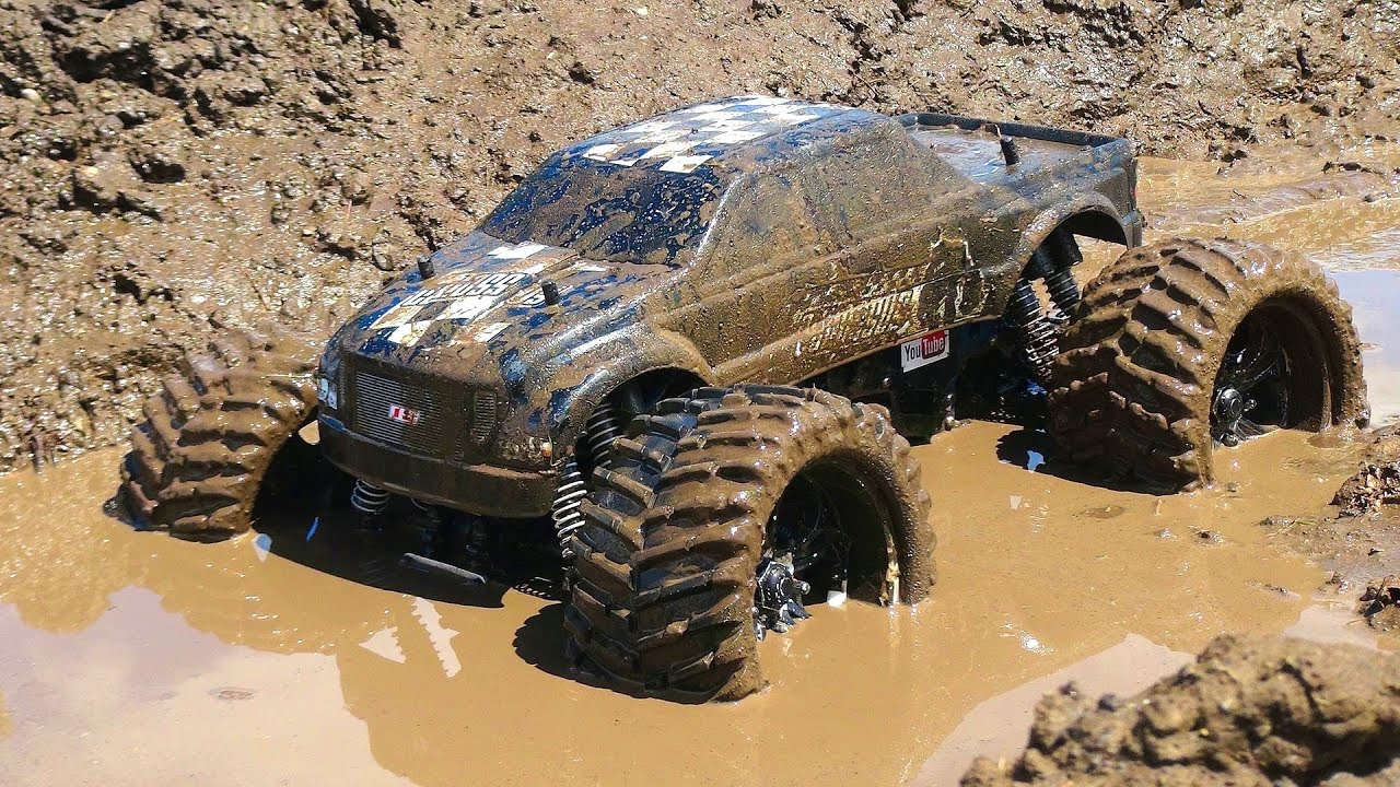 Rc Adventures Muddy Monster Truck Smoke Show Chocolate Milk A Slice Of Mud Youtube