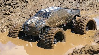 RC ADVENTURES - Muddy Monster Truck & Smoke Show - Chocolate Milk & a Slice of Mud(Click to Subscribe! ▻ http://bit.ly/JOovvU - I continue to work on my mud pit - and today I am tempted to run my CEN Colossus 4x4 Monster Truck through it!, 2015-06-21T22:19:49.000Z)