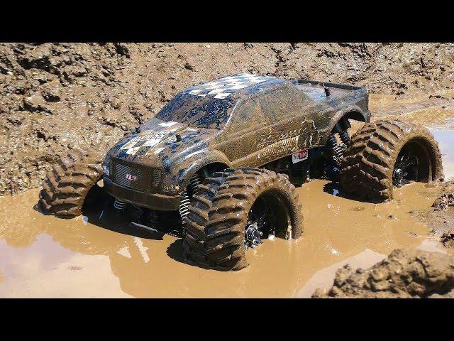 Muddy Monster Truck & Smoke Show
