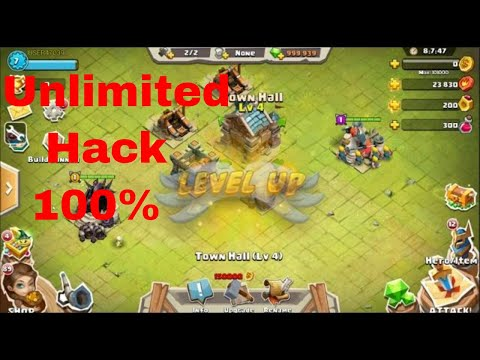 clash of lords 2 HACK-Works (9999999988 gems)