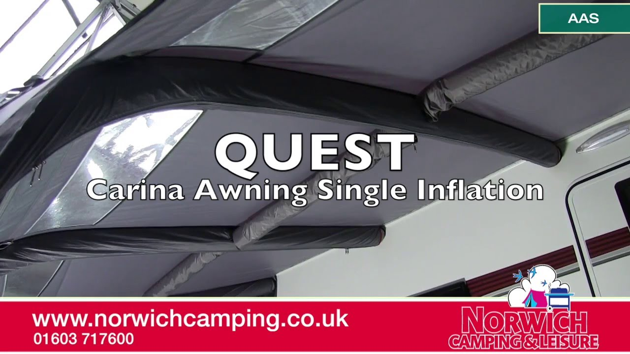 Quest Carina Awning Single Inflation Optional Extra Tubes