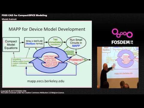 FOSDEM 2015 - Developer Room - Electronic Design Automation - Compact Spice Modelin