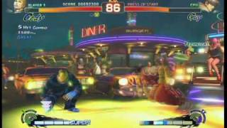Super Street Fighter 4: Cody Rival Match