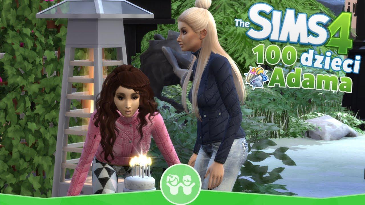 Download The Sims 4 Pl : Wyzwanie 100 dzieci Adama #120 ( Urodziny Tosi i Amelki )