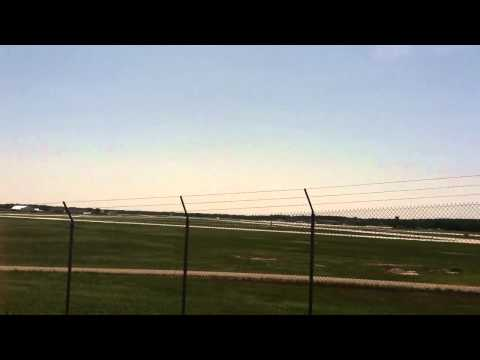 Two F-16s takeoff from MSN (part 1)