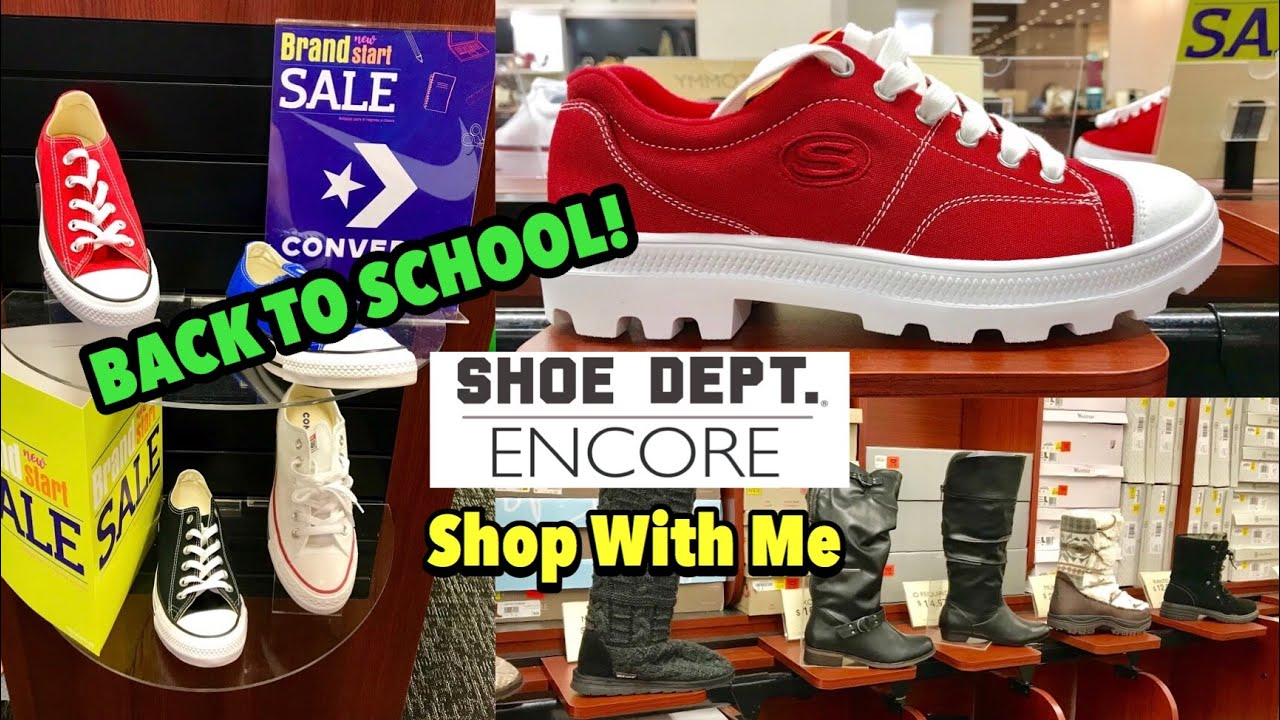 Shoe Dept. ENCORE Shop With Me Name