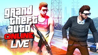 GTA 5 ONLINE Live Streaming - GeeksTheGreeks
