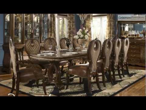 The Sovereign Rectangular Dining Room Collection From Aico Furniture