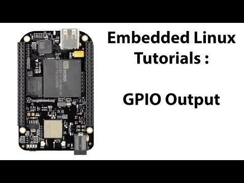 BeagleBone Black GPIO (Output) Pin Configuration - YouTube