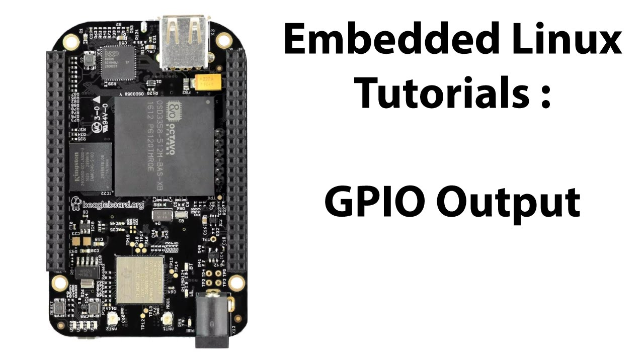 BeagleBone Black GPIO (Output) Pin Configuration