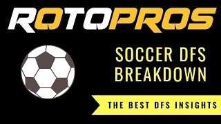 RotoPros The 8EST DFS Show S1E9: EPL Breakdown Saturday October 20th, 2018