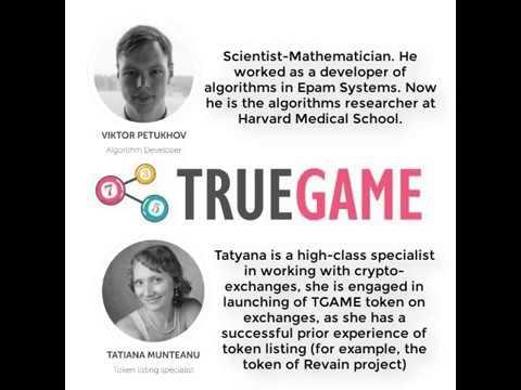 TRUEGAME - BLOCKCHAIN BASED GAMES OF CHANCE