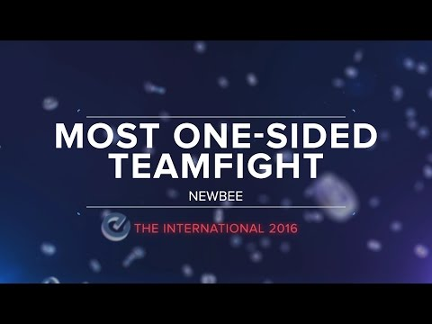The International 2016 Awards: Most One-Sided Teamfight
