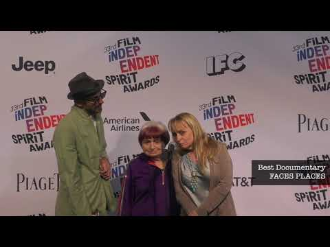 2018 Film Independent Spirit Awards - In the Winners' Tent . . .