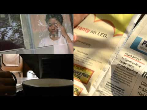 the newspaper - a short film