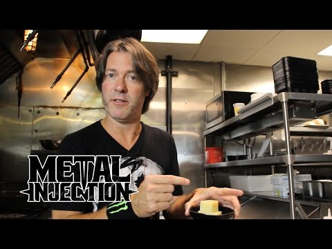 Taste Of Metal - THAT METAL SHOW's Don Jamieson Cooks Veggie Waffles! | Metal Injection
