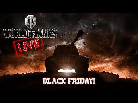 World of Tanks - Live Streaming - Black Friday! - 2.390 WN8 [ITA]