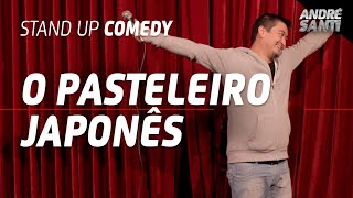 FINALMENTE UM JAPA DO PASTEL - André Santi - Stand Up Comedy