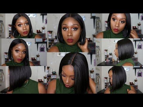 Perfect Blunt Cut Bob: Bobbi Boss Lace Front Wig MLF126 LYNA | SistaWigs.com