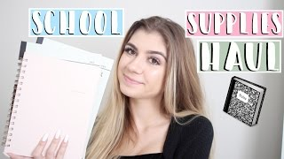 Back To School: Supplies Haul + Giveaway
