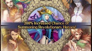 [Tower of Saviors] 200% Increase on Revolutionary Heroes (13 Draws)