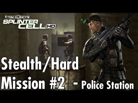Splinter Cell - Mission #2 - Police Station - Hard/Stealth W
