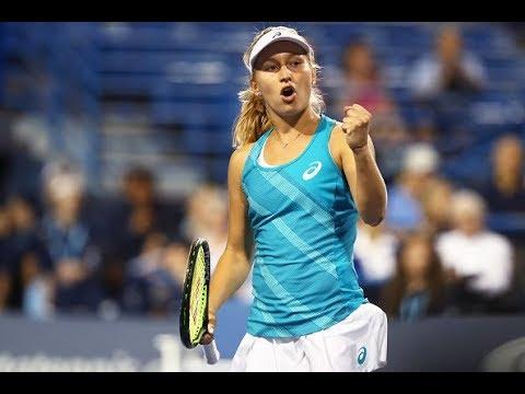 2017 Connecticut Open Semifinals | Daria Gavrilova vs. Agnieszka Radwanska | WTA Highlights