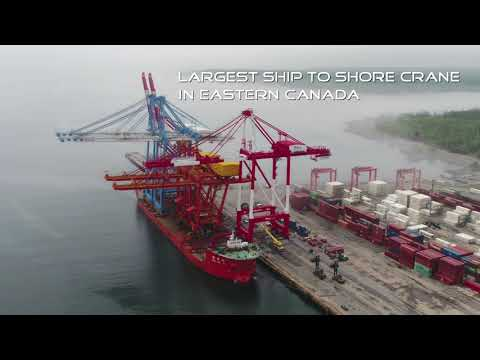 Deep water berth extension at Port of Halifax fully operational