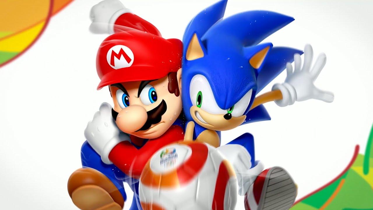 Mario Sonic En Los Juegos Olimpicos Rio 2016 Trailer