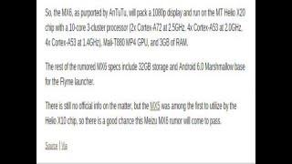meizu MX6 REVIEW - 10-Core Helio X20, 4GB RAM - US298 !