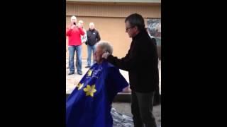Helen Owen head shave