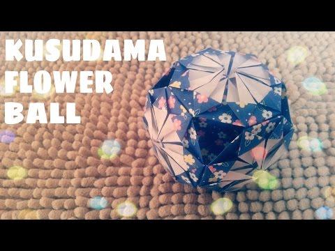 DIY - Cách làm quả cầu bằng giấy