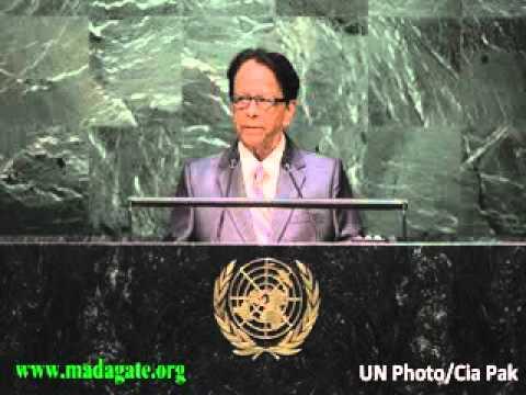 Sir Anerood Jugnauth. United Nations CHAGOS