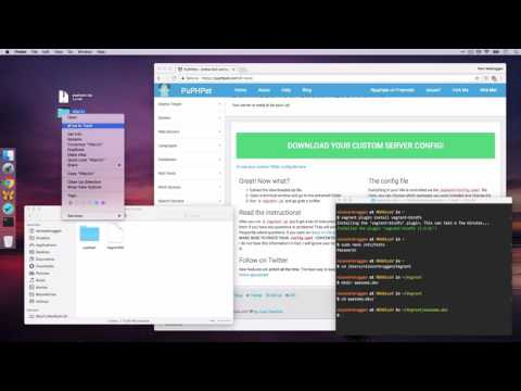 Setting up Vagrant with Ubuntu using PuPHPet the easy way macOS 10.12 (Sierra) and above