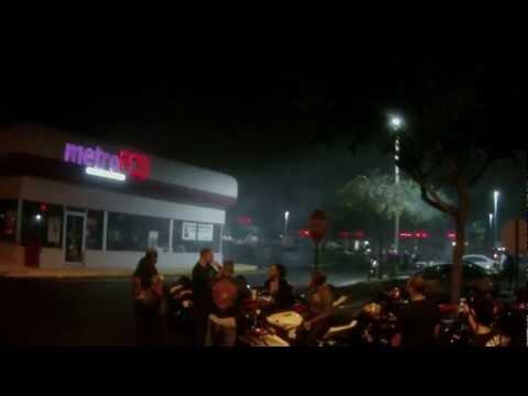 JET POWER HAYABUSA MOTORCYCLE BIKE AT HOOTERS IN PEMBROKE PINES, FL 1-9-2013