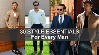 30 Style Essentials Every Man Should Own By The Age of 30 | Darren Kennedy