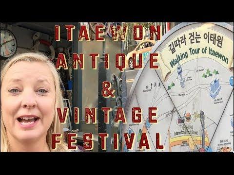 Seoul - Itaewon Antique Street