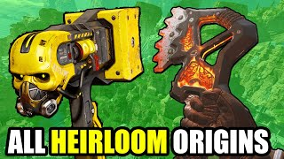 Apex Legends The Origin Story For Every Heirloom