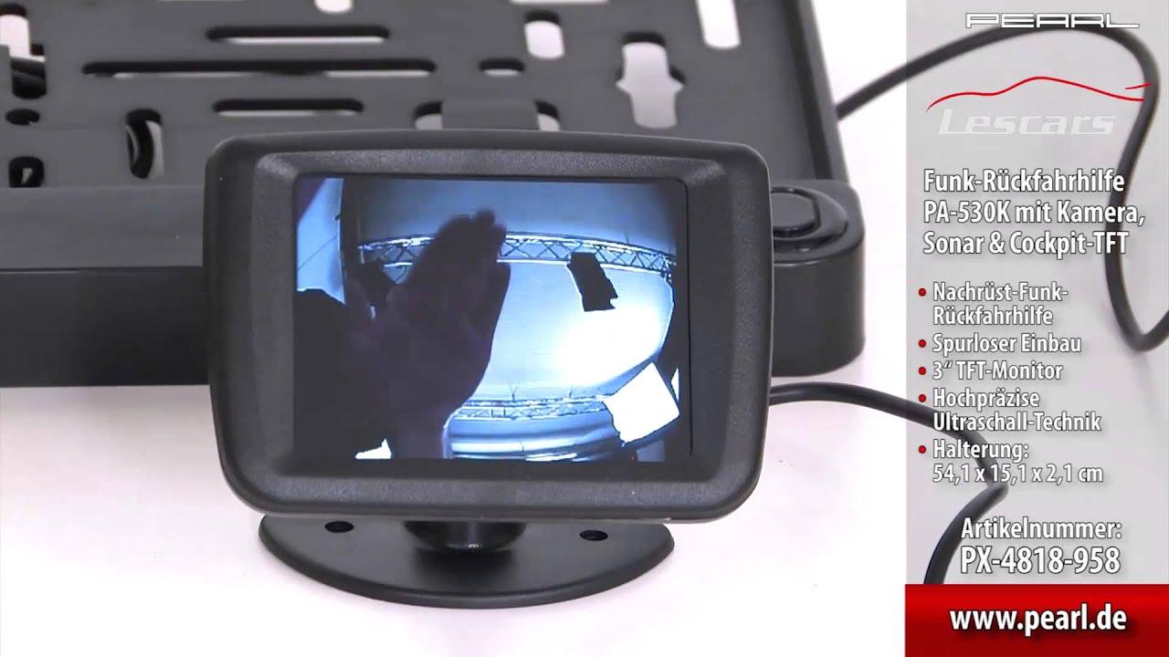 Rückfahrkamera Funk Nachrüsten : lescars funk r ckfahrkamera pa 530k mit farb tft 3 7 6cm ~ Watch28wear.com Haus und Dekorationen
