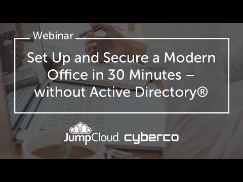 Set Up & Secure The Modern Office in 30 Minutes – Without Active Directory thumbnail