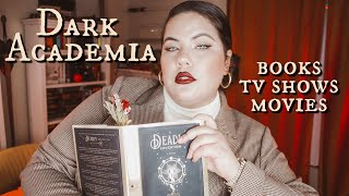DARK ACADEMIA RECOMMENDATIONS | Books, TV Shows, Films