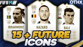 FIFA 19 | 15+ Current Football Players who will Become ICONS ft. Hazard, Bale, Zlatan | @Onnethox