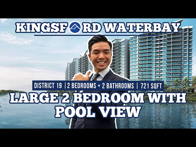 Kingsford Waterbay | Biggest 2 bedder, Pool View with Rare Separate Kitchen by Home Quarters SG
