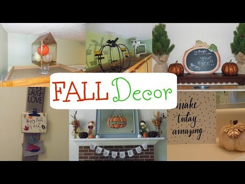 FALL HOME DECOR TOUR 2017 | FALL DECOR ON A BUDGET