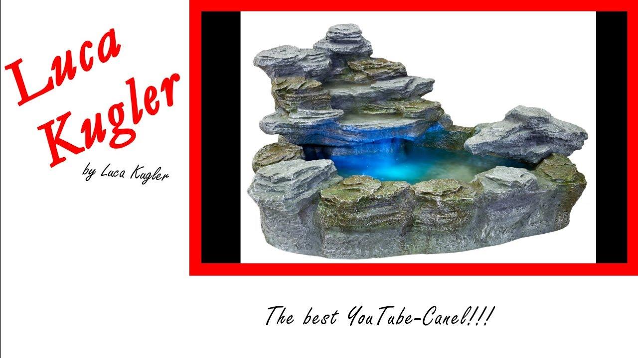 Spring Brunnen Stein Brunnen Selber Bauen 1 Youtube