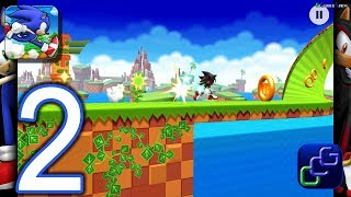 Sonic Runners Adventure Android Walkthrough - Part 2 - Green Hill