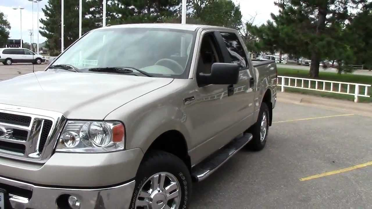 2008 Ford F150 XLT Crew Cab 4WD - YouTube